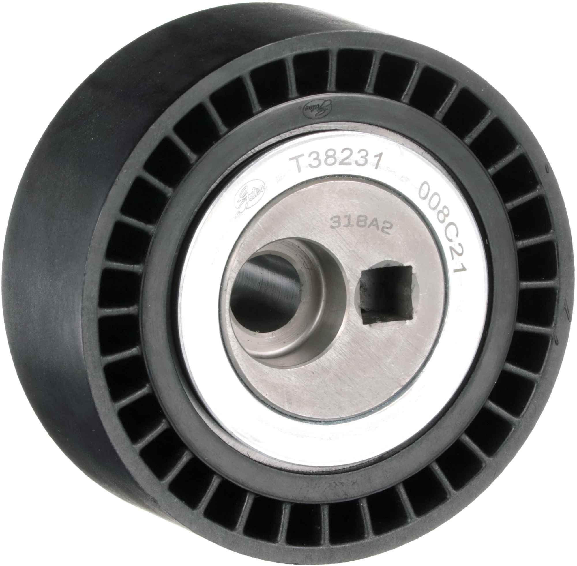 GATES FleetRunner™ Micro-V® Kit T38231 Spannrolle, Keilrippenriemen Breite: 27mm