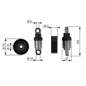GATES FleetRunner™ Micro-V® Kit T38242 Spannrolle, Keilrippenriemen