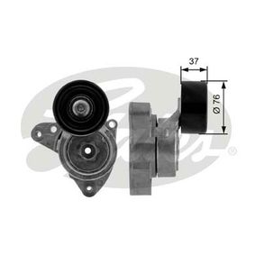 Tensioner Pulley, v-ribbed belt Width: 76mm with OEM Number 31170RAAA02