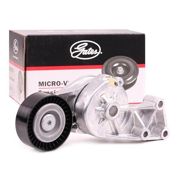 GATES FleetRunner™ Micro-V® Kit T38307 Tensioner Pulley, v-ribbed belt Width: 24mm