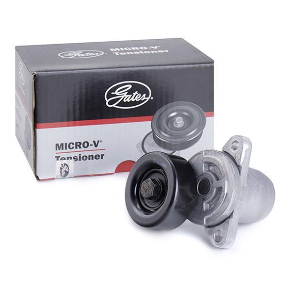 GATES FleetRunner™ Micro-V® Kit T38454 Spannrolle, Keilrippenriemen