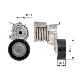 Polo 6r 1.2 Riemenspanner, Keilrippenriemen GATES FleetRunner™ Micro-V® Kit T39115 (1.2 Benzin 2011 CGPA)