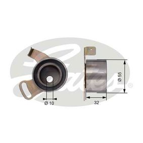 Spannrolle, Zahnriemen Ø: 55mm mit OEM-Nummer LHP10014