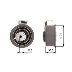 Napínací kladka, ozubený řemen R: 72mm s OEM Čislo XM21-6K254-AA