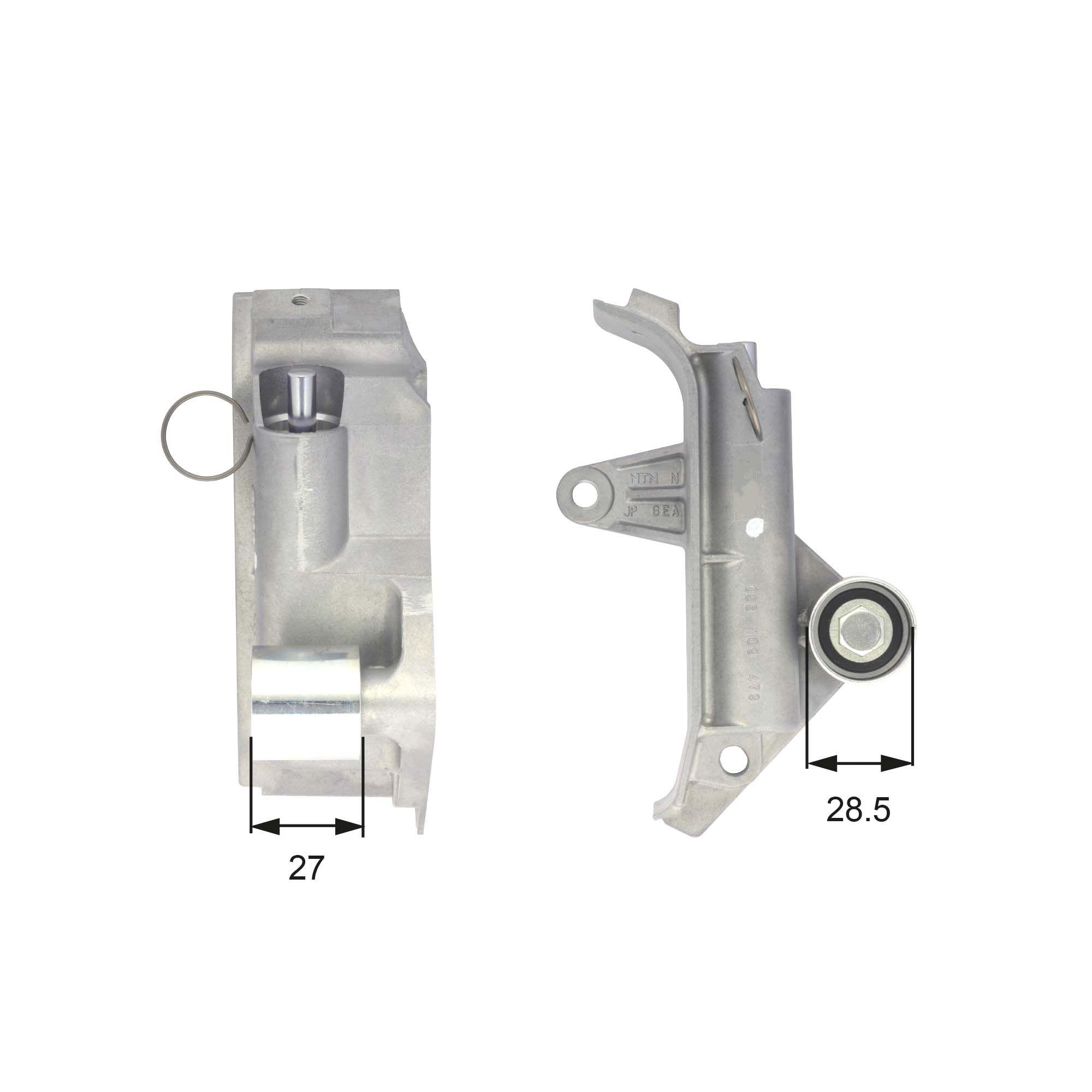 GATES  T43025 Schwingungsdämpfer, Zahnriemen