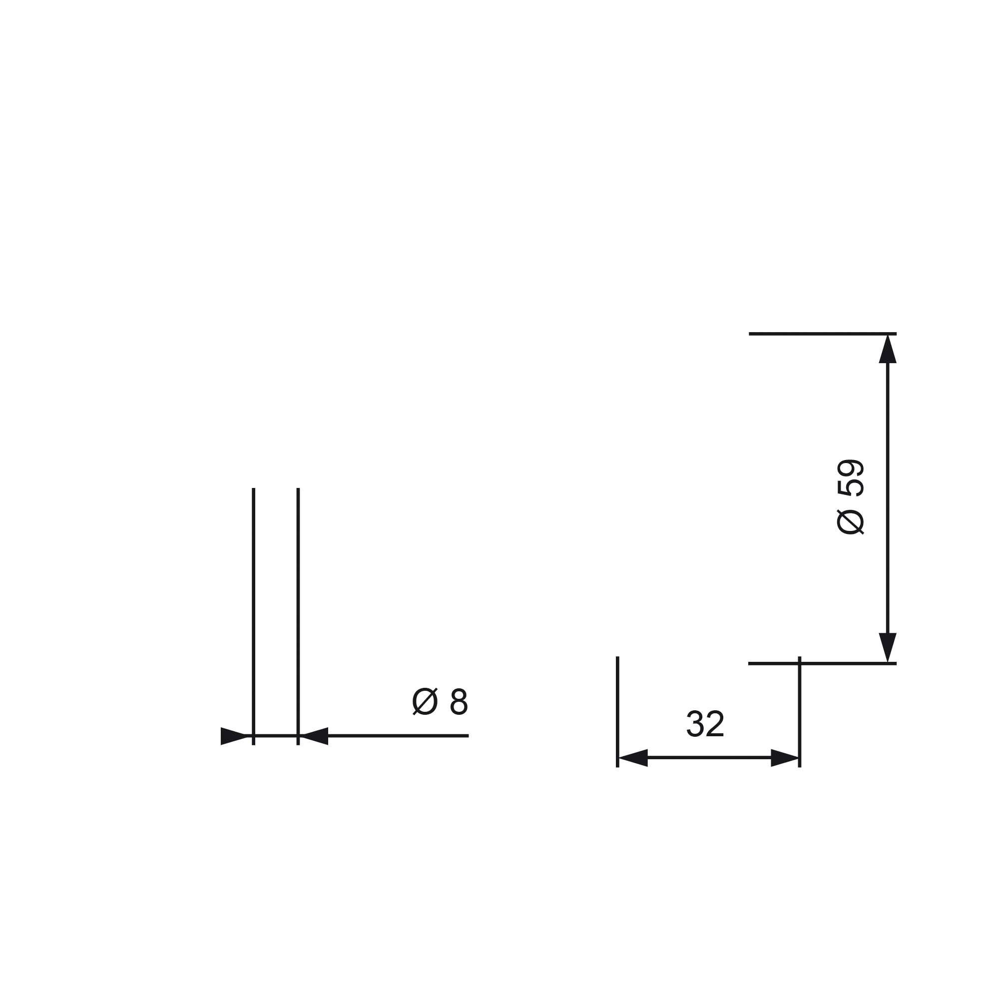 GATES FleetRunner™ Micro-V® Stretch Fit® T43119 Spannrolle, Zahnriemen Ø: 59mm