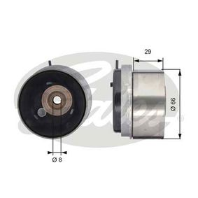 Tensioner Pulley, timing belt Article № T43143 £ 140,00