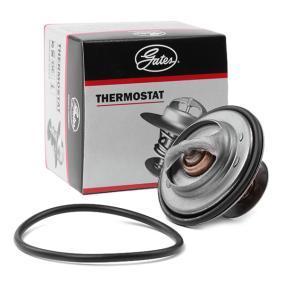 GATES Thermostat, Kühlmittel TH14392G1 für AUDI A6 (4B2, C5) 2.4 ab Baujahr 07.1998, 136 PS