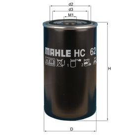 Hydraulikfilter, Automatikgetriebe Ø: 93,3mm, Höhe: 172, 175mm mit OEM-Nummer 000 983 0615