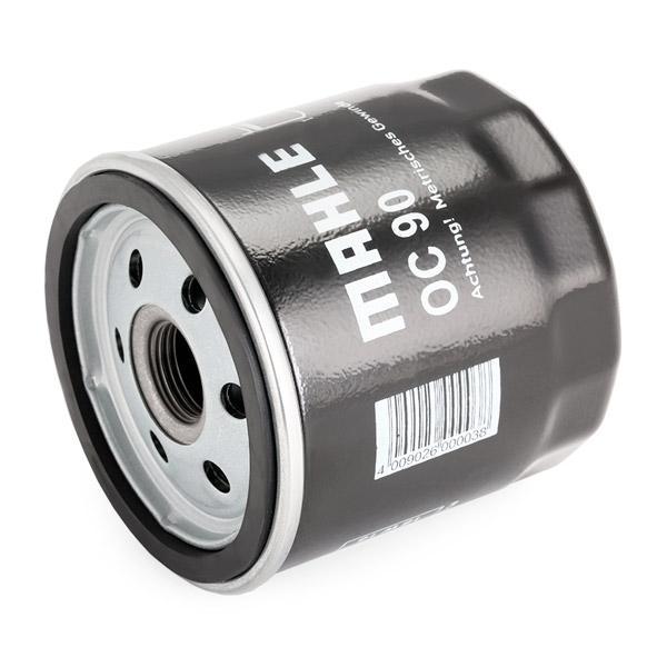 Filtro de aceite MAHLE ORIGINAL OC 90 OF evaluación