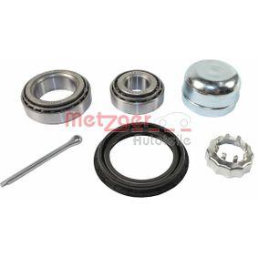 Radlagersatz Ø: 40, 50,3mm, Innendurchmesser: 17, 29mm mit OEM-Nummer 311498071BS