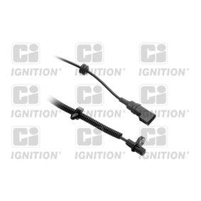 Sensor, Raddrehzahl Länge: 88mm, Pol-Anzahl: 2-polig mit OEM-Nummer 98AG-2B372CC