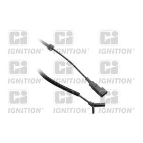 Sensor, Raddrehzahl Länge: 88mm, Pol-Anzahl: 2-polig mit OEM-Nummer 4 370 937