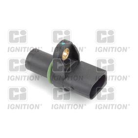 Sensor, Nockenwellenposition Pol-Anzahl: 3-polig mit OEM-Nummer 12-14-1-435-351