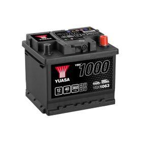 YUASA YBX1000 YBX1063 Starterbatterie Polanordnung: 0