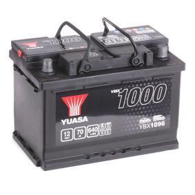 YUASA YBX1000 YBX1096 Starterbatterie Polanordnung: 0