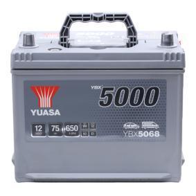 YUASA YBX5000 YBX5068 Starterbatterie Polanordnung: 0