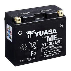 YUASA MF YT12B-BS Starterbatterie Länge: 150mm, Breite: 69mm, Höhe: 130mm