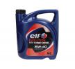 Ostaa edullisesti Moottoriöljyä ELF Evolution, 500 Turbo Diesel, 15W-40, 5l netistä - EAN: 3267025011313