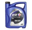 Ostaa edullisesti Moottoriöljyä ELF Evolution, 900, 5W-50, 4l netistä - EAN: 3267025010699