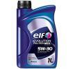 Olio auto 5W-30, Contenuto: 1l, Olio sintetico EAN: 3267025010576