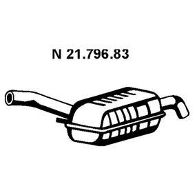 VEGAZ  BS-240EBER Endschalldämpfer Länge: 1280mm