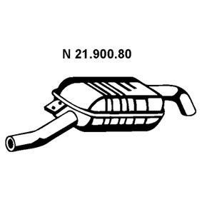 Endschalldämpfer Länge: 1260mm mit OEM-Nummer 18101437548