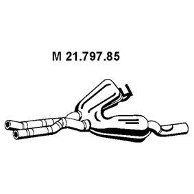Mittelschalldämpfer mit OEM-Nummer 18107504979