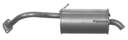 VEGAZ  DS-205 Endschalldämpfer Länge: 790mm, Länge: 790mm