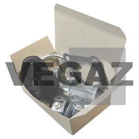 Nissan Note e11 1.6 Montagesatz, Abgasanlage VEGAZ DA-123 (1.6 Benzin 2008 HR16DE)