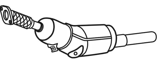 VEGAZ  RK-346 Rußpartikelfilter