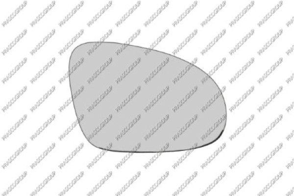 Rückspiegelglas PRASCO VW0997504 8033533164064