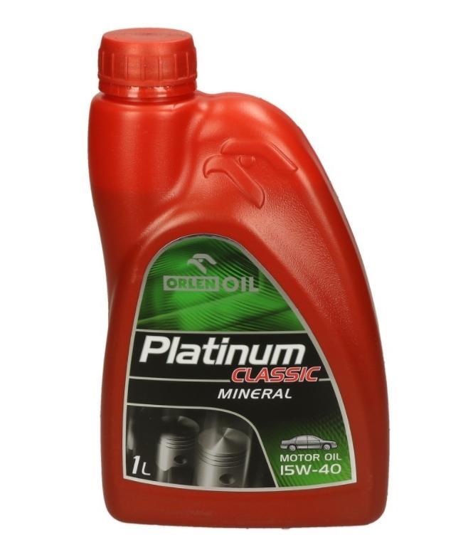 ORLEN PLATINUM CLASSIC, MINERAL QFS411B10 Motoröl
