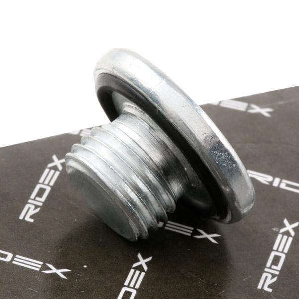 Oil drain plug RIDEX 593D0009 expert knowledge