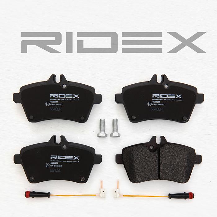 Disk brake pads RIDEX 402B1055 rating