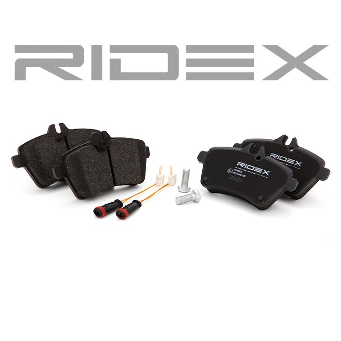 Disk Pads RIDEX 402B1055 expert knowledge