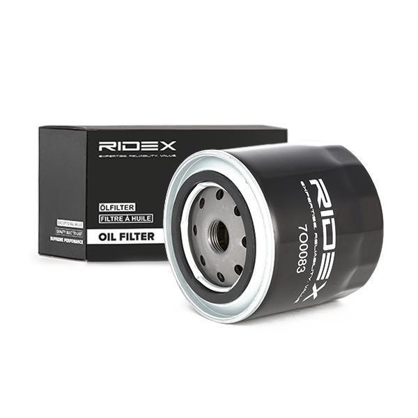 Motorölfilter 7O0151 RIDEX 7O0151 in Original Qualität