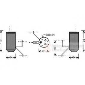 Изсушител, климатизация 0200D042 25 Хечбек (RF) 2.0 iDT Г.П. 1999