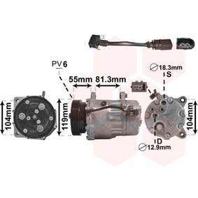 Klimakompressor Riemenscheiben-Ø: 119,7mm, Anzahl der Rillen: 7 mit OEM-Nummer 1 076 012