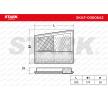 OEM STARK SKAF-0060642 MERCEDES-BENZ GLK Luftfilter