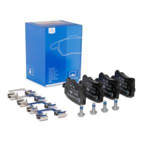 Bremsbelagsatz, Scheibenbremse Breite: 105,2mm, Höhe: 56,4mm, Dicke/Stärke: 16,9mm mit OEM-Nummer JZW-698-451-M