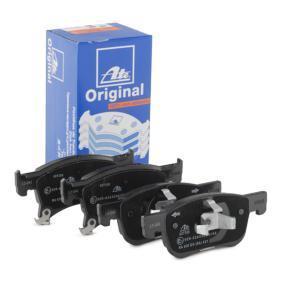 Bremsbelagsatz, Scheibenbremse Breite 2: 155,1mm, Höhe 1: 61,9mm, Höhe 2: 68,0mm, Dicke/Stärke: 18,2mm mit OEM-Nummer 16 05 281