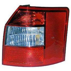VAN WEZEL Heckleuchte 0325936 für AUDI A4 Avant (8E5, B6) 3.0 quattro ab Baujahr 09.2001, 220 PS