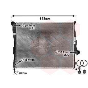Radiateur, refroidissement du moteur avec OEM numéro 16 1 1557