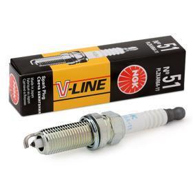 Spark Plug with OEM Number 22401-CK81 B