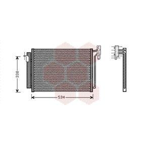 Kondensator, Klimaanlage 06005281 X5 (E53) 3.0 d Bj 2004