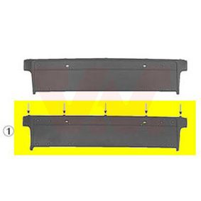 Licence plate holders Quality: Equipart Certified 0639480 BMW 5 Saloon (E39)