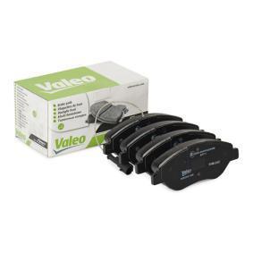 Bremsbelagsatz, Scheibenbremse Breite 1: 151mm, Höhe 1: 57,5mm, Dicke/Stärke 1: 19mm mit OEM-Nummer 9949279