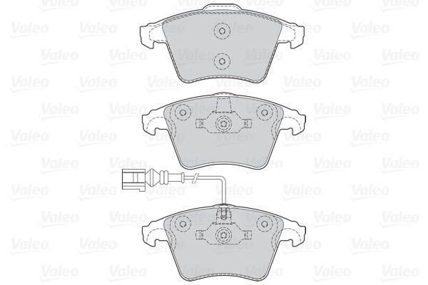 Bremsbelagsatz VALEO 302041 Bewertung