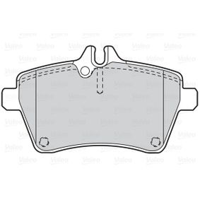 Brake Pad Set, disc brake Width: 117mm, Height: 63,6mm, Thickness: 18,6mm with OEM Number 169 420 13 20